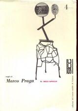 MARCO PRAGA IL BELL'APOLLO  PRAGA MARCO TEATRO STABILE GENOVA 1962
