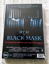 JET LI IS BLACK MASK – DVD, R-4, LIKE NEW, FREE SHIPPING WITHIN ASUTRALIA