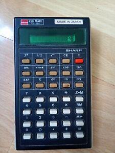 Vintage Sharp ELSI MATE EL-500 Calculator Made In Japan, Working Order Has Wear