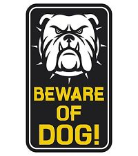 Beware of the Dog Beware of Dogs Warning Sticker Decal Graphic Vinyl Label V2