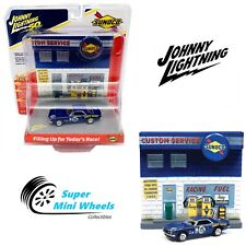 Johnny Lightning Diorama 3D Sunoco Filling Up For Today's 1967 Chevrolet Camaro