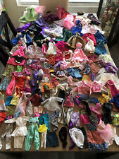 Barbie clothes lot and accessories gowns dresses massive lot