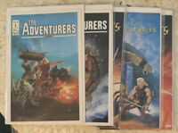 the ADVENTURERS #1, 2, 3, 4, 0 Lot Of 6 Aircel Peter Hsu D&D COMICS 1986