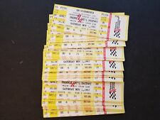 Lot Of 24 GM Goodwrench Delco Battery 500 Truck Series Nov 1 1997 Full Tickets