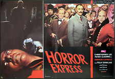 CINEMA-fotobusta HORROR EXPRESS ch. lee, p. cushing