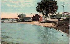 Providence Field's Point Houses & Windmill 1910 RI