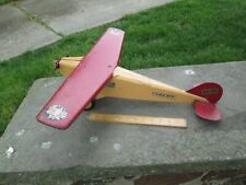 "Steelcraft U S Mail Plane - Circa 1930's/ 40's - 22 1/2"" Wingspan X 21 1/2L FINE"