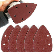 Sanding Palm Sheet 50pcs Sander Pads Polish Sandpaper Grit Abrasive Discs 14x9cm