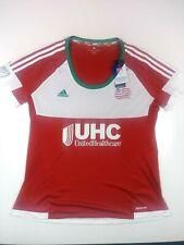 MLS New England Revolution Womens Replica Short Sleeve Team Jersey,XL