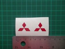 Mitsubishi....logo / badge car vinyl decal sticker ....x6.....