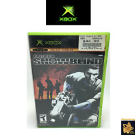Project Snowblind  (2005)  Microsoft Xbox Game with Manual & Case Tested & Works