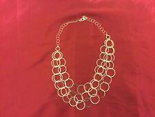 "23"" White House | Black Market Brand Three-Chain Silver Circlet Necklace"