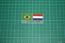 BRAZIL Vs HOLLAND World Cup 2014 Holland Away Shirt Match Details