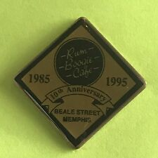 Restaurant Pin - Rum Boogie Cafe 10th Anniversary (1985-1995) Memphis