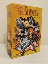 THE SLAYERS COMPLETE SERIES DVD COLLECTION EPISODES 1-26 ANIME 2002 4-DISC SET