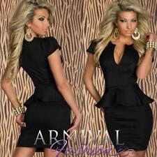 Elastane Short Dresses for Women with Cap Sleeve