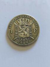 1fr belge 1887 vl argent  !