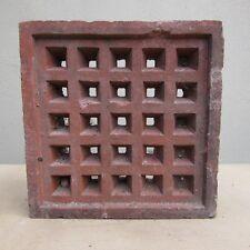 Antique Air Brick 225mm Square £30 (ex. VAT)