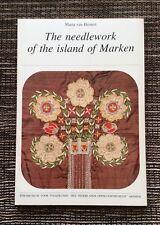 RARE VINTAGE 1978 The Needlepoint of the Island of Marken by Maria van Hemert