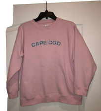 Cuffys Girls Cape Cod Pink Long Sleeve Sweatshirt Size XL Very Good Preowned