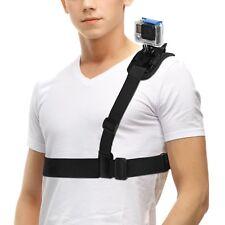 GoPro Shoulder Camera Holder Single Chest Strap Bike Support Ride Recorder Belt