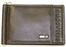 Men's BILLABONG Wharf Slim Leather Flip Wallet. RRP $29.99. NWOT