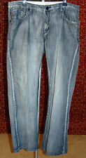 MARC ECKO gray thin cotton boot cut jeans 38/32 (T08-0DC7G)