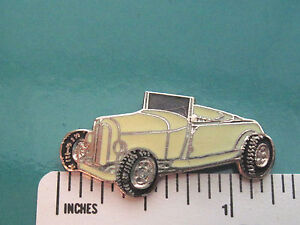 Ford MODEL A ROADSTER - hat pin , tie tac , lapel pin , hatpin GIFT BOXED L