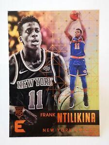 Panini Essentials 2017-18 N36 card NBA New York Knicks RC #41 Frank Ntilikina