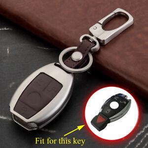 Key Ring For Benz C E S M R Class GL CLS CLA GLK GLA Key Holder Cover Case Chain