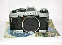 Olympus OMG OM G 35mm Film  SLR Camera Shutter/Light meter Work