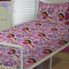 Dora the Explorer KIDS Sheet Set | Nickelodeon | Hot Air Balloons | Single