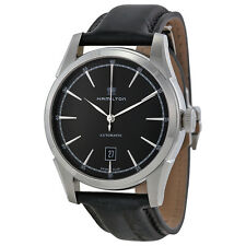 Hamilton Timeless Classic Spirit Of Liberty Automatic Black Dial Mens Watch-AU
