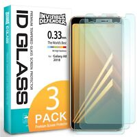 For Samsung Galaxy A8 2018 | Ringke ID Tempered Glass Screen Protector 0.33mm