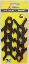 """8 X SPRING CLAMPS 2"""" STRONG GRIP STUDIO BACKGROUND BACKDROP PHOTO DIFFUSER 2 """""""