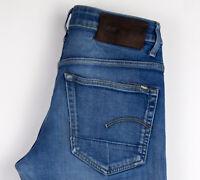 G-Star Brut Hommes 3301 Slim Jean Taille W30 L34 ALZ286
