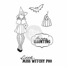 Julie Nutting Witchy Poo 5pc Cling Rubber Stamp Set