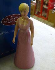 "25 REMEMBER THE LADIES PORCELAIN ""PRINCESS DIANA"" 5.5"" IN ORIGINAL BOXES, NEW"