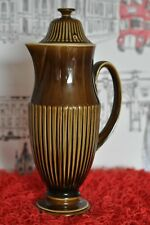 Carlton Ware - Retro Vintage Olive Green Tall Hot Chocolate/Water Pot 28cm Tall