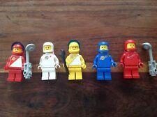 Lot de figurines Lego espace Vintage