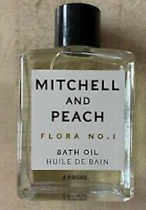 Mitchell And Peach Flora No. 1 Bath Oil 15ml Brand NEW