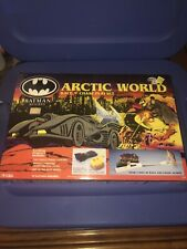 Rare VTG Ertl Batman Returns Arctic World Race N Chase Car Playset MIB New 1992