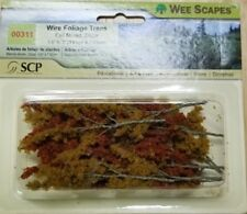 """Wee Scapes 00311, Fall Mixed Wire Foliage Branches, 1 1/2"""" - 3"""" 24pk"""