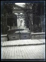 Francia Palais Da Justice Art Ferro Forgiato Foto 1900 Negativo Placca Da Lente