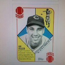 BOB FELLER #22 of 52 Indians 1951 Topps VIP 2016 Topps National Convention