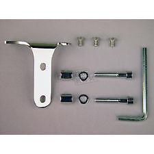 NOS Honda J&M Corporation Polished Mounting Bracket JCB03-HBK01P