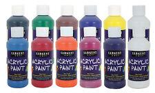 Sargent Art Acrylic Paint - Assortment of 12 bottles - 8 oz each