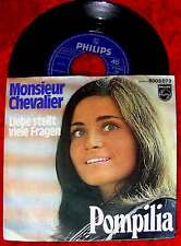 Single Pompilia: Monsieur Chevalier (Philips 6003 073) D 1969