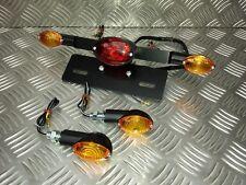 Triumph-Corcho-Personalizado, Ojo De Gato indicadores y luz trasera 12v Bombilla