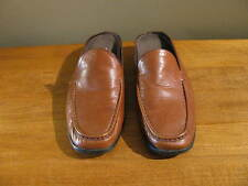 Munro American Light Brown  Women's Shoes Open Back Low Heels  Size 6.5-M